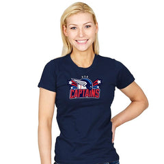 USA Captains - Star-Spangled - Womens - T-Shirts - RIPT Apparel