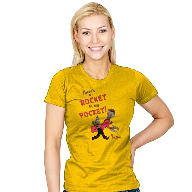 There's a Rocket in my Pocket Exclusive - Womens - T-Shirts - RIPT Apparel