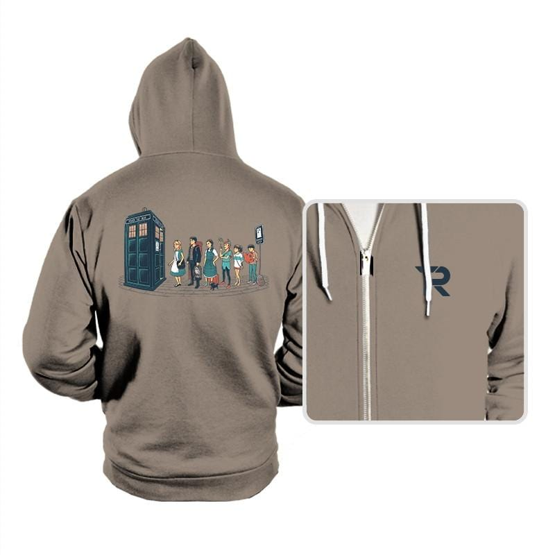 The Doctor's Express - Hoodies - Hoodies - RIPT Apparel