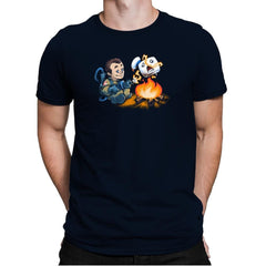 Stay-Burnt, Marshmallow Man Exclusive - Mens Premium - T-Shirts - RIPT Apparel