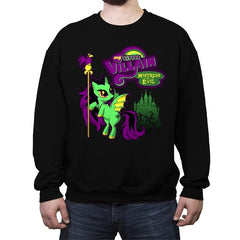 Mistress of all Ponies - Crew Neck Sweatshirt - Crew Neck Sweatshirt - RIPT Apparel