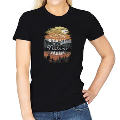 Go Outside - Back to Nature - Womens - T-Shirts - RIPT Apparel