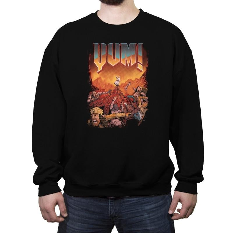 YUM! - Crew Neck Sweatshirt - Crew Neck Sweatshirt - RIPT Apparel