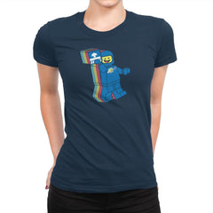 SPACESHIPALICIOUS Exclusive - Brick Tees - Womens Premium - T-Shirts - RIPT Apparel