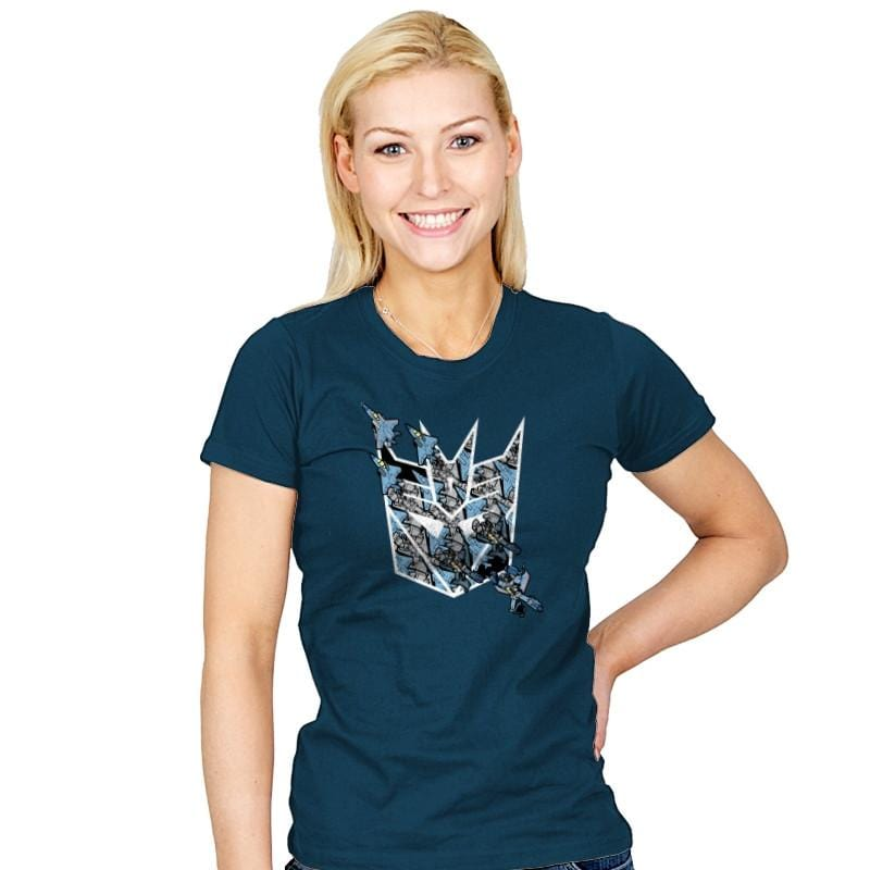 Thunder Tessellation  - 80s Blaarg - Womens - T-Shirts - RIPT Apparel