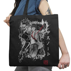 God of the New World - Sumi Ink Wars - Tote Bag - Tote Bag - RIPT Apparel