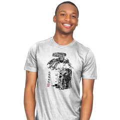 Major vs Tank sumi-e - Mens - T-Shirts - RIPT Apparel