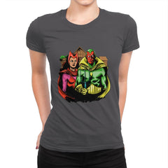 Marvelous Gothic - Womens Premium - T-Shirts - RIPT Apparel