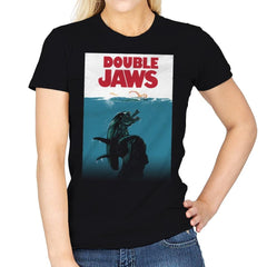 Double Jaws - Womens - T-Shirts - RIPT Apparel