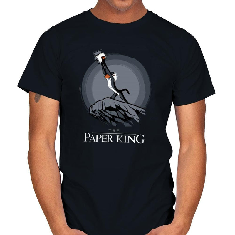 The Paper King - Mens - T-Shirts - RIPT Apparel
