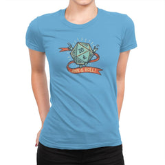 Rock and Rollplay - Womens Premium - T-Shirts - RIPT Apparel