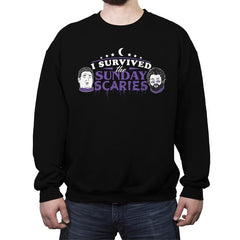 Sunday Scaries - Crew Neck Sweatshirt - Crew Neck Sweatshirt - RIPT Apparel
