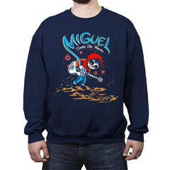 Miguel VS The Dead - Crew Neck Sweatshirt - Crew Neck Sweatshirt - RIPT Apparel