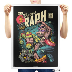 The Incredible Raph  - Prints - Posters - RIPT Apparel