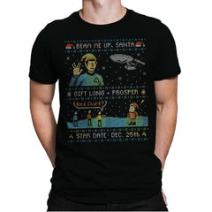 Gift Long and Prosper - Ugly Holiday - Mens Premium - T-Shirts - RIPT Apparel