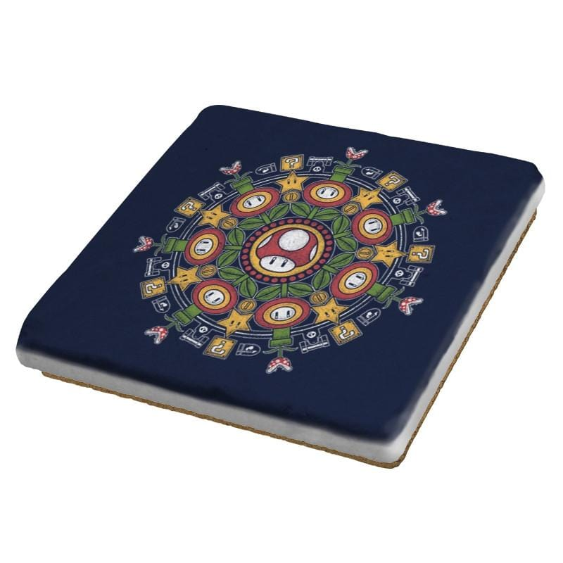 One Up Mandala - Coasters - Coasters - RIPT Apparel