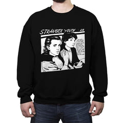 Stranger Youth - Crew Neck Sweatshirt - Crew Neck Sweatshirt - RIPT Apparel