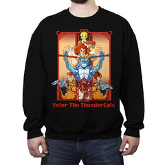 Enter The Cats - Anytime - Crew Neck Sweatshirt - Crew Neck Sweatshirt - RIPT Apparel