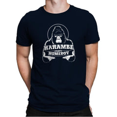 Harambe is my Homeboy Exclusive - Mens Premium - T-Shirts - RIPT Apparel