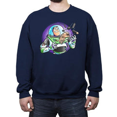 Space Guardian - Crew Neck Sweatshirt - Crew Neck Sweatshirt - RIPT Apparel