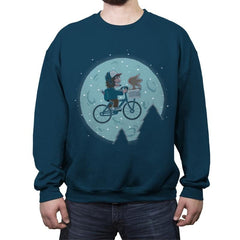 Strangest Friends - Crew Neck Sweatshirt - Crew Neck Sweatshirt - RIPT Apparel