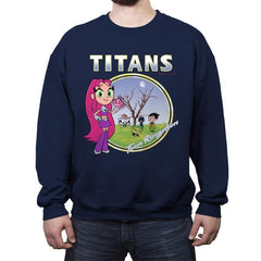 TITANS - Crew Neck Sweatshirt - Crew Neck Sweatshirt - RIPT Apparel