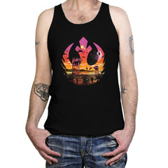 Rebellion Sunset - Tanktop - Tanktop - RIPT Apparel
