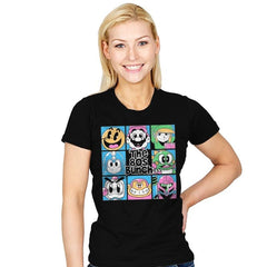 The 80s Bunch - Womens - T-Shirts - RIPT Apparel