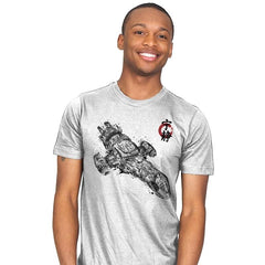 Serenity Sumi-E - Sumi Ink Wars - Mens - T-Shirts - RIPT Apparel