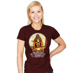 The God of Thunder Abides - Anytime - Womens - T-Shirts - RIPT Apparel