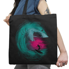 Shark Attack - Back to Nature - Tote Bag - Tote Bag - RIPT Apparel