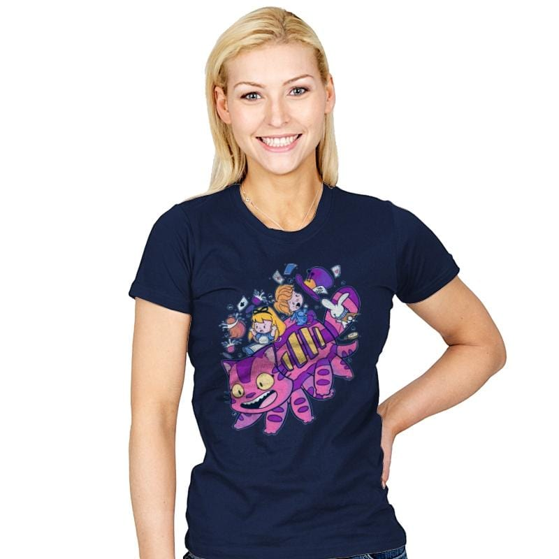 Cheshire Bus - Womens - T-Shirts - RIPT Apparel