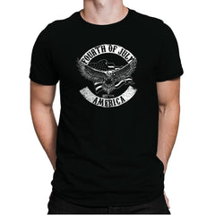Fourth Of July - Star-Spangled - Mens Premium - T-Shirts - RIPT Apparel