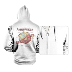 Anatomy of the D20 - Hoodies - Hoodies - RIPT Apparel