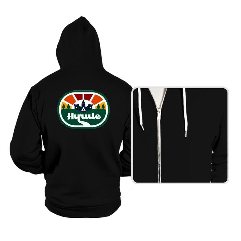 Retro Adventure Logo - Hoodies - Hoodies - RIPT Apparel