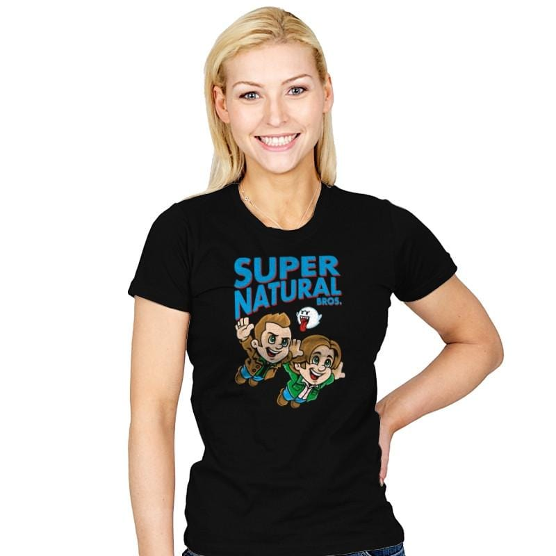 Super Natural Bros - Womens - T-Shirts - RIPT Apparel