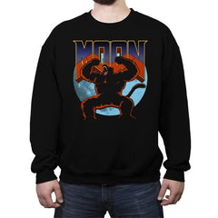 DoomMoon - Crew Neck Sweatshirt - Crew Neck Sweatshirt - RIPT Apparel