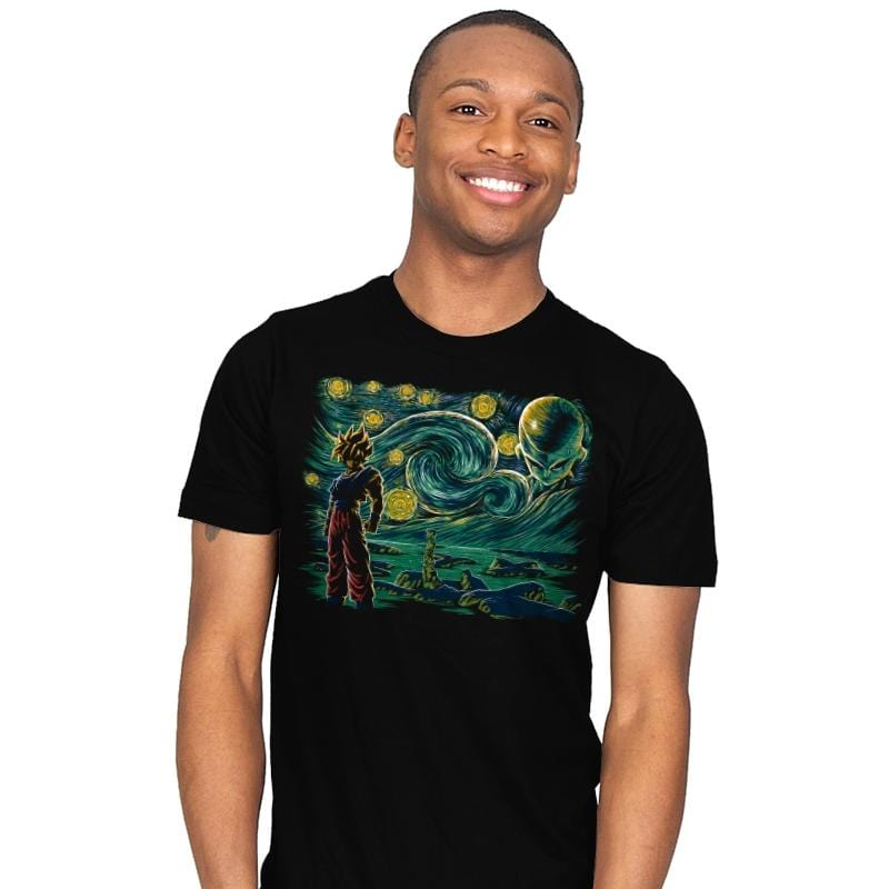 Starry Namek - Mens - T-Shirts - RIPT Apparel