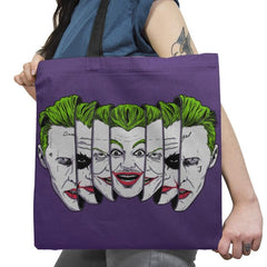 The Joke Has Many Faces Exclusive - Tote Bag - Tote Bag - RIPT Apparel