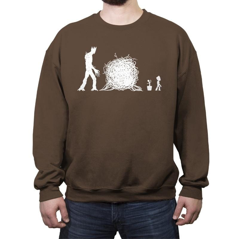 EVO-GROOT-ION - Crew Neck Sweatshirt - Crew Neck Sweatshirt - RIPT Apparel
