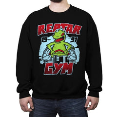 Reptar Gym - Crew Neck Sweatshirt - Crew Neck Sweatshirt - RIPT Apparel