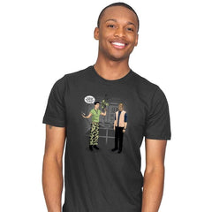 How You Get Aliens - Mens - T-Shirts - RIPT Apparel