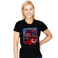 London Nekobasu - Womens - T-Shirts - RIPT Apparel