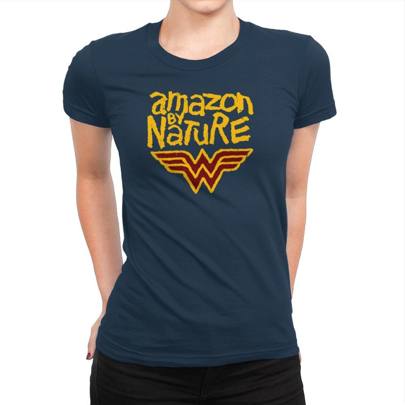 Amazon By Nature Exclusive - Wonderful Justice - Womens Premium - T-Shirts - RIPT Apparel