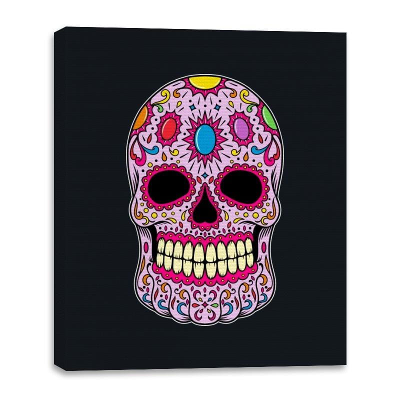Infinity Calavera - Canvas Wraps - Canvas Wraps - RIPT Apparel
