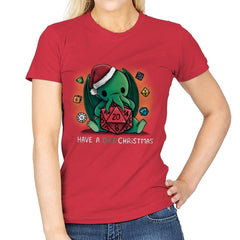 Have a Dice Christmas - Womens - T-Shirts - RIPT Apparel