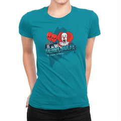 Visit Derry Maine Exclusive - Womens Premium - T-Shirts - RIPT Apparel