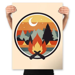 Great Outdoors - Prints - Posters - RIPT Apparel