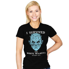 White Walker Survivor - Womens - T-Shirts - RIPT Apparel