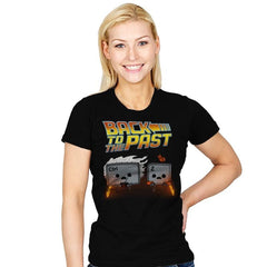 Back To The Past - Raffitees - Womens - T-Shirts - RIPT Apparel